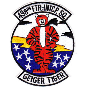 498th Fighter Interception Squadron Patch