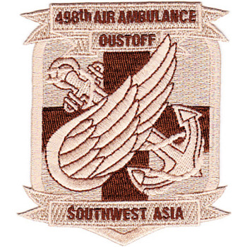 498th Aviation Medical Company Air Ambulance Dustoff Patch
