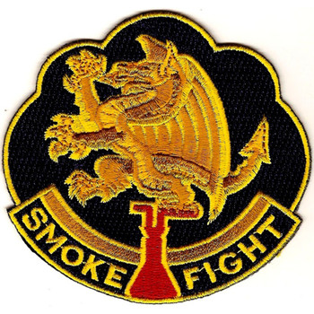 490th Chemical Battalion Patch