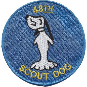 48th Infantry Platoon Scout Dog Vietnam Patch
