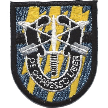 12th Special Forces Group Flash W/Crest Patch
