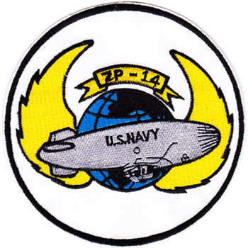 ZP-14 Aviation Airship Patrol Squadron Fourteen Patch - Version A