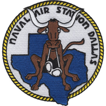 Naval Air Station Dallas Texas Patch - Version B
