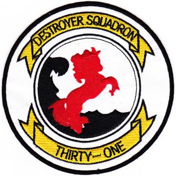 Desron 31 Destroyer Squadron Patch - Version B