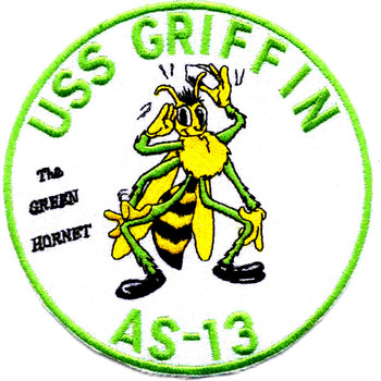 USS Griffin AS-13 Patch - Version A