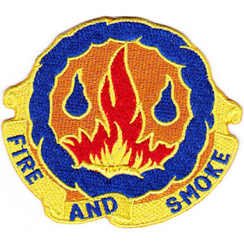 487th Chemical Battalion Patch