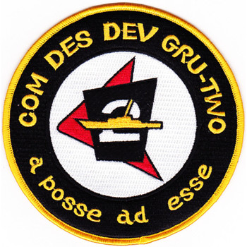 2nd Comdesdevgru Destroyer Development Group Patch - Version A
