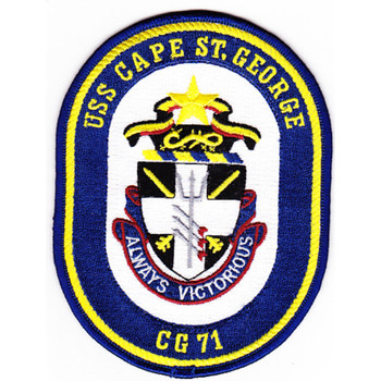 USS Cape St. George CG-71 Patch