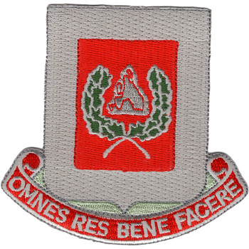 27th Engineer Battalion Patch