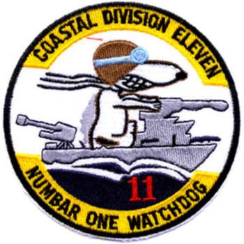 COSDIV-11 Coastal Division Eleven Patch