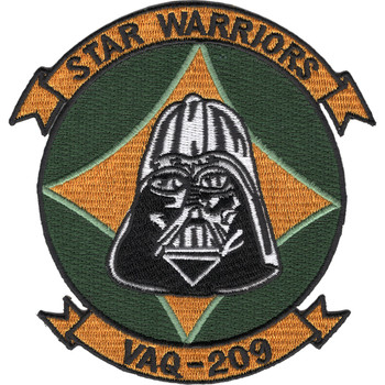 VAQ-209 Carrier Tactical Electronics Warfare Squadron Patch