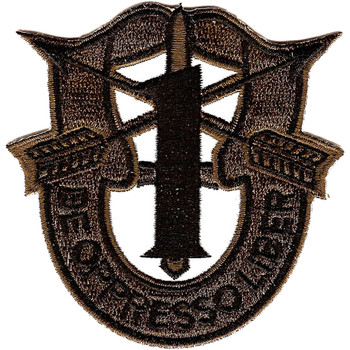 1st Special Forces Group Crest OD Green Patch