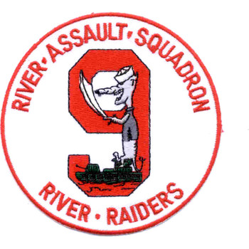 Rivron 9 Naval River Squadron Nine Patch River Raiders