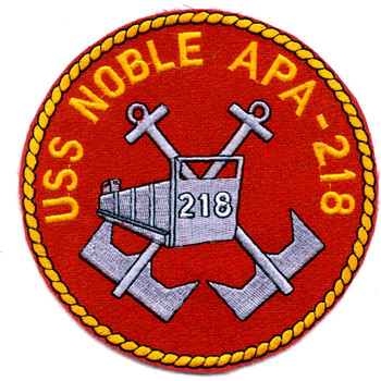 USS Noble APA-218 Patch