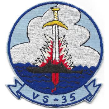 VS-35 Sea Control Squadron Patch