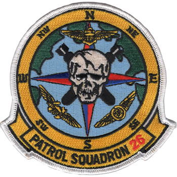 VP-26 Aviation Patrol Squadron Patch