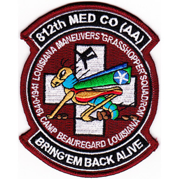 812Th Aviation Medical Company Air Ambulance Dustoff Patch