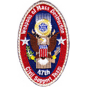 47th Weapons Of Mass Destruction Civil Support Team Patch