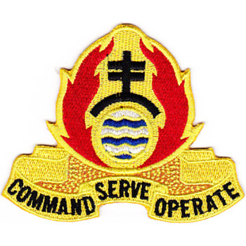 479th Chemical Battalion Patch
