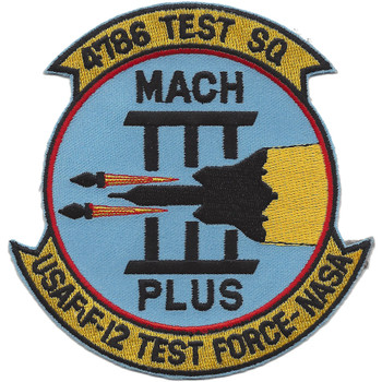 4786 Test Squadron Patch