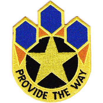 472nd Chemical Battalion Patch
