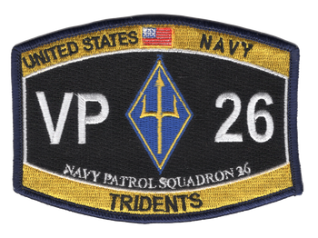 VP-26 Tridents Hat Patch