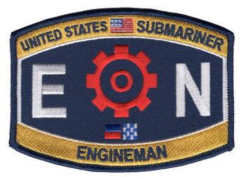 EN Engineering Rating Submarine Engineman Patch