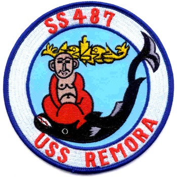 SS-487 USS Remora Patch
