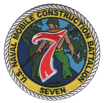 Naval Mobile Construction Battalion Seven Patch