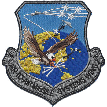 USAF Air to Air Missile Systems Wing Patch