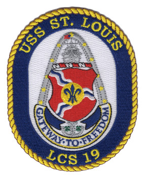 USS St. Louis LCS-19 Patch