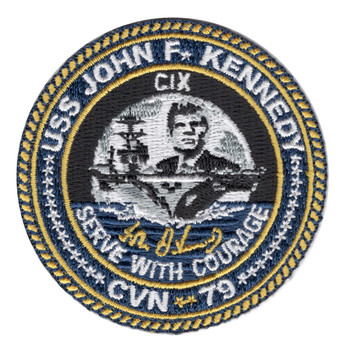 USS John F. Kennedy CVN-79 Hat Patch