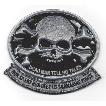Skull And Crossbones Dead Man Tell No Tales Patch