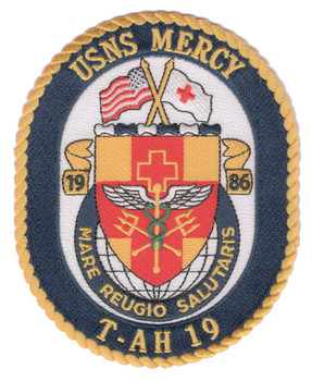 USNS Mercy T-AH-19 Patch