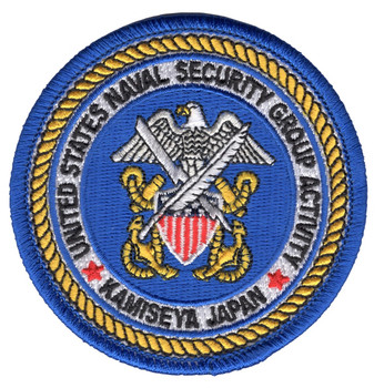 Naval Security Group Activity Kamiseya, Japan Patch