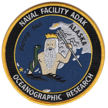 Naval Facility Adak, Alaska - Oceanographic Research Patch