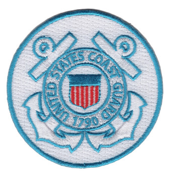 United States Coast Guard Crest Embroidered Patch