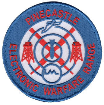 Pinecastle Electronic Warfare Range Patch - PEWR