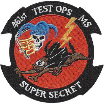 461st Test Operations MS-X-35 Patch