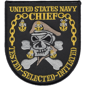 United States Navy Chief Patch