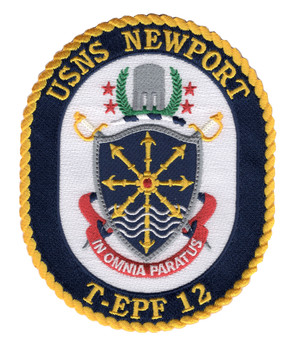 USNS Newport T-EPF 12 Patch