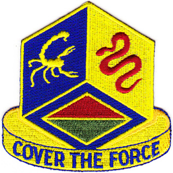 460th Chemical Brigade Patch