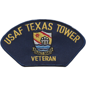 4604th Support Squadron Texas Towers Vetran Ball Cap Patch