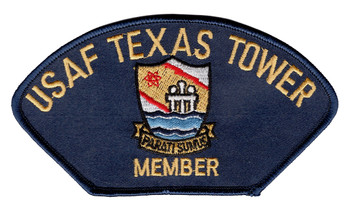 4604th Support Squadron Texas Towers Member Ball Cap Patch