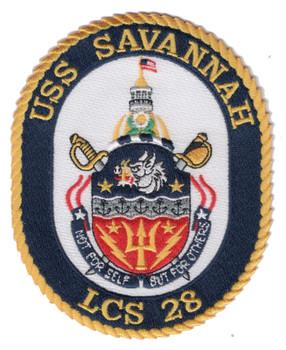 USS Savannah LCS-28 Patch
