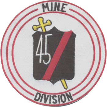 45th Mine Division Patch Vietnam
