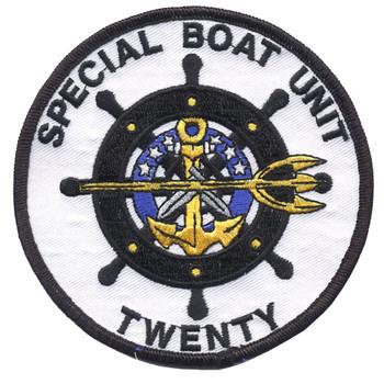 SBU-20 Special Boat Unit Two Zero Patch