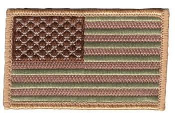 United States Flag Patch - Desert Version