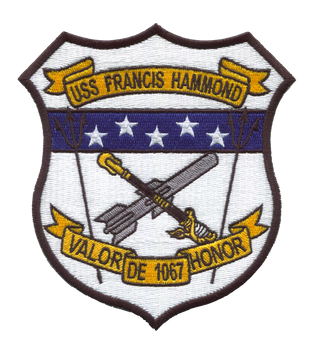USS Hammond DE-1067 Patch