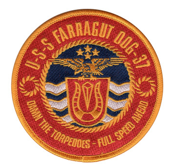 USS Farragut DDG-37 Patch